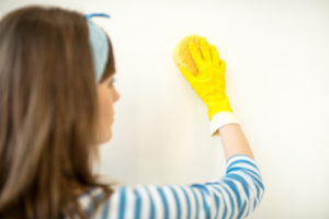 How to Clean office walls