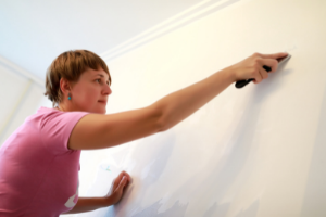 Remove all the items on your office walls