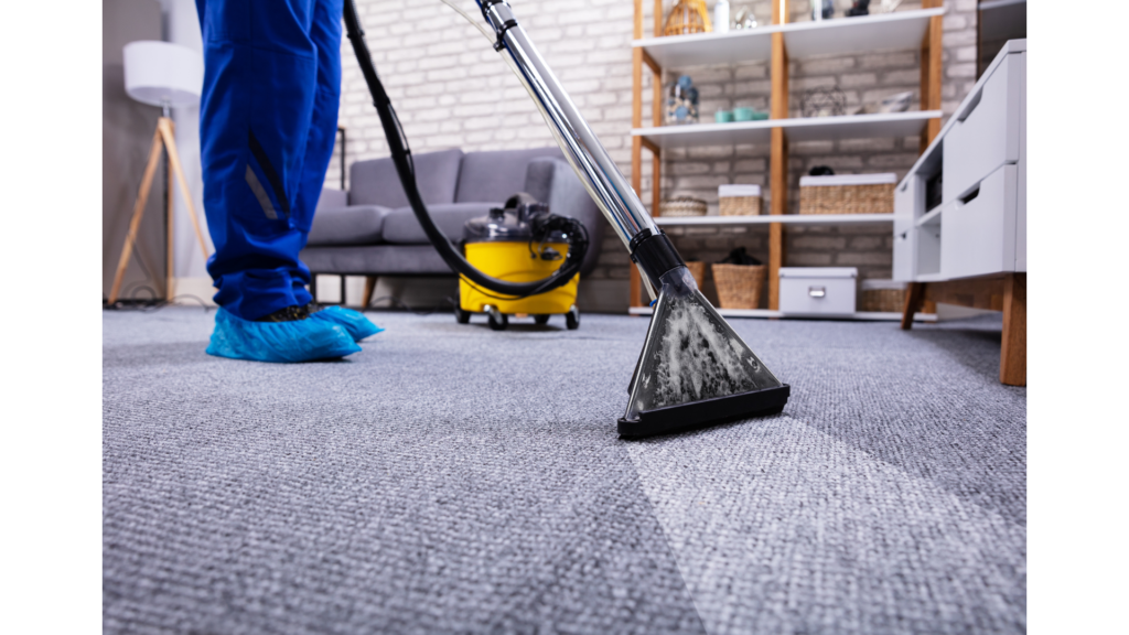 Cleaning your carpet before you move out